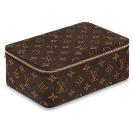 Louis Vuitton-Cube LV new-Brown