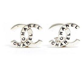 Chanel-SILVER CC CHANEL CLIPS-Argenté
