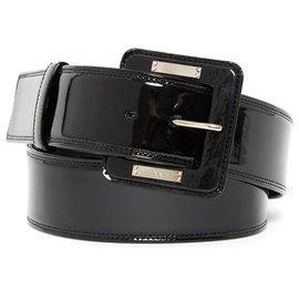 Chanel-PATENT BLACK SILVER CM8 NEW-Noir