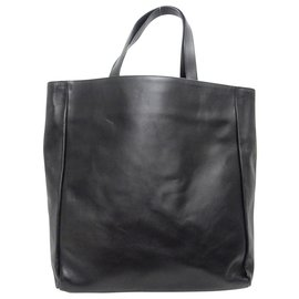 Saint Laurent-Sac cabas réversible Saint Laurent-Noir
