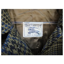 Burberry-Burbery vintage coat in pure lambswool t 40-Green