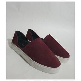 Rebecca Minkoff-Sneakers-Dark red