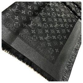 Louis Louise-Louis Vuitton Monogram Shine-Black