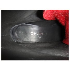 Chanel-Chanel p boots 37-Grey