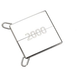 Hermès-Hermes Silver Symbole 2000 Pendant-Silvery