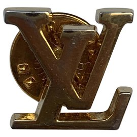 Louis Vuitton-Louis Vuitton pins with drawer box and dustbag-Golden