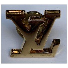 Louis Vuitton-Pin's Louis Vuitton avec boite tiroir et dustbag-Doré