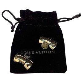 Louis Vuitton-Louis Vuitton cufflinks-Silvery
