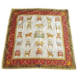 Gucci-Silk scarves-Multiple colors