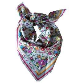 Louis Vuitton-Écharpe en soie-Multicolore