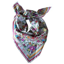 Louis Vuitton-Silk scarf-Multiple colors