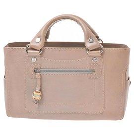 Céline-Céline Vintage Handbag-Beige