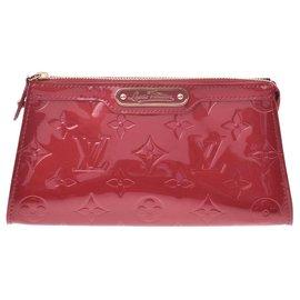 Louis Vuitton-Louis Vuitton Vernis Zippy-Rouge
