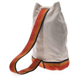 Hermès-Hermès Vintage Backpack-Beige