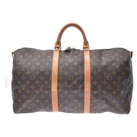 Louis Vuitton-Louis Vuitton Keepall 50-Marron