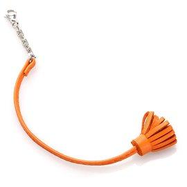 Hermès-Marqueur de page Hermes Orange Carmencita-Orange