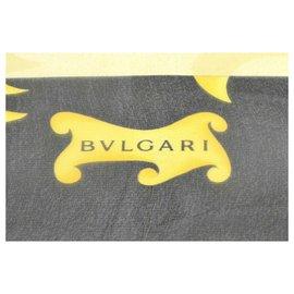 """Bulgari-Écharpe Bulgari """"Cape Logo""""-Beige"""