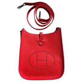 Hermès-Hermes Evelyne 16 TPM-Rouge