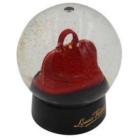Louis Vuitton-Collectible Louis Vuitton Alma Bag Snowball-Red