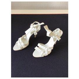 Casadei-New Casadei sandals-White