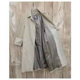 Burberry-Coats, Outerwear-Light green