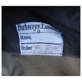 Burberry-womens Burberry vintage t trench coat 38-Khaki