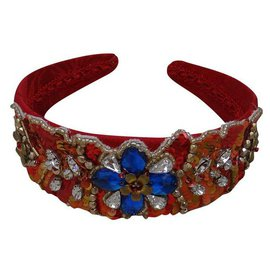 Dolce & Gabbana-Hair accessories-Red,Multiple colors