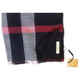 Burberry-Burberry scarf brand new-Blue