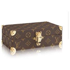 Louis Vuitton-LV box case new-Brown