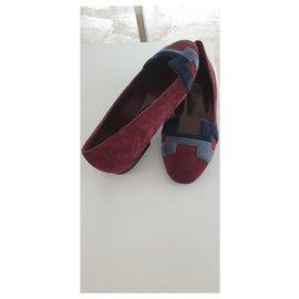 Hermès-NICE BALLERINAS-Dark red