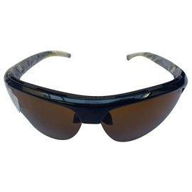 Louis Vuitton-Sunglasses 4Motion earth (limited edition)-Dark brown