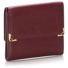 Cartier-Cartier Red Must de Cartier Small Wallet-Red
