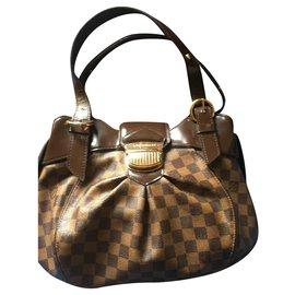 Louis Vuitton-Louis Vuitton Sistina PM-Brown