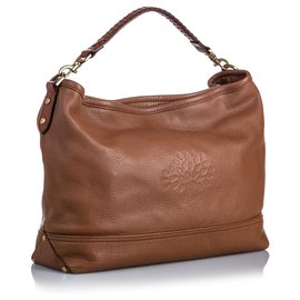 Mulberry-Mulberry Brown Leather Effie Satchel-Brown