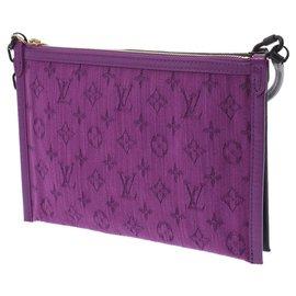 Louis Vuitton-Louis Vuitton Flat messenger-Marron