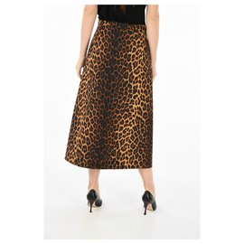 Gucci-Gucci jupe nouvelle-Imprimé léopard