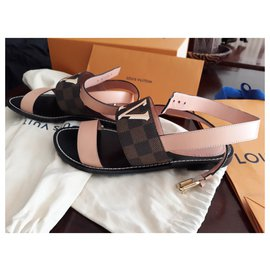 Louis Vuitton-PASSENGER louis vuitton sandals-Other