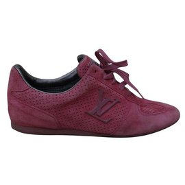 Louis Vuitton-sneakers-Rose