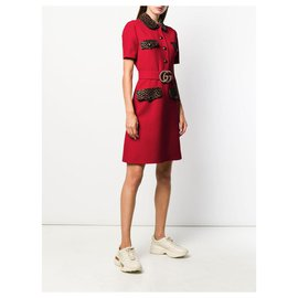 Gucci-Gucci dress new-Rouge