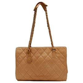 Chanel-TIMELESS CLASSIC BEIGE SHOPPING-Beige