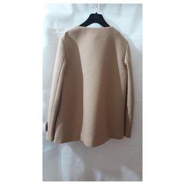 Moncler-Manteaux, Vêtements d'extérieur-Beige