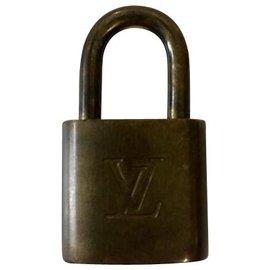 Louis Vuitton-Louis Vuitton Lock-Doré
