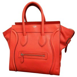 Céline-Céline Luggage-Red
