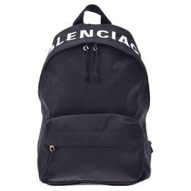 Balenciaga-Balenciaga Wheel backpack-Black