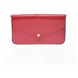 Louis Vuitton-Louis Vuitton Felicie-Rouge