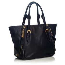 Burberry-Burberry Black Small Maidstone Tote Bag-Black