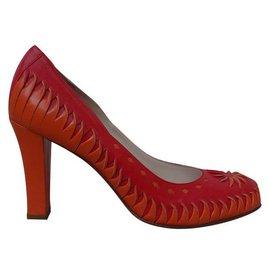 Dior-Heels-Red,Orange