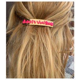 Louis Vuitton-Accessoires pour cheveux-Doré