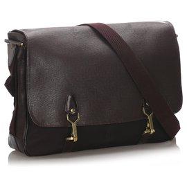 Louis Vuitton-Louis Vuitton Brown Taiga Dersou-Brown