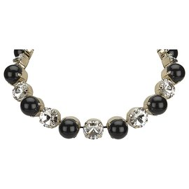 Gucci-Gucci Gold Bijoux Necklace-Black,Golden